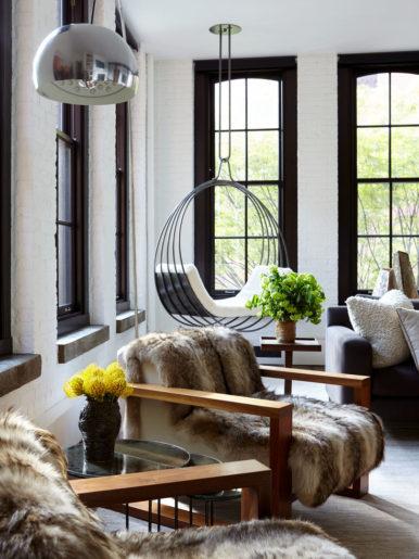Clarkson Street, NYC  Interior Design: Marie-Christine Design